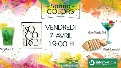 "Photo of 7 avril: Socors23 inaugure le printemps avec la soirée ""Spring Colors"""
