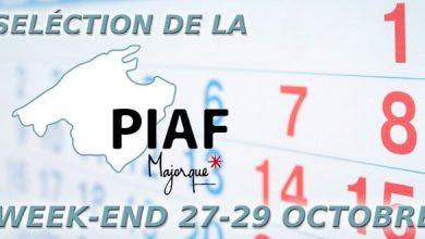 Photo of Sélection de la PIAF pour le week-end du 27 au 29 octobre