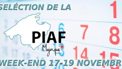 Photo of Sélection de la PIAF pour le week-end du 17 au 19 novembre