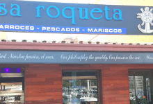 Photo of Sa Roqueta, un restaurant gastronomique aux saveurs de la mer à Portitxol