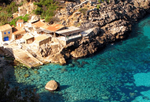 Photo of La Cala Deiá à Majorque