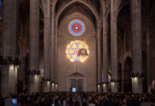 Photo of Le spectacle du « 8 » de la cathédrale de Palma