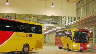 Photo of   Le TIB, service de transport inter-urbain