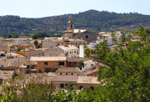 Photo of Le village d'Alaro à Majorque